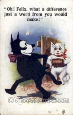flx000087 - Felix the Cat Postcard Post Card