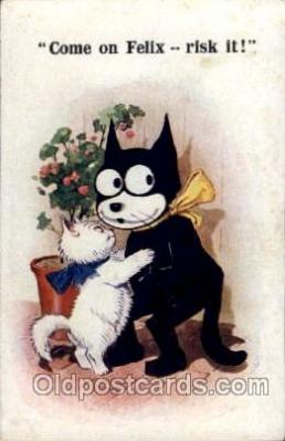 flx000091 - Felix the Cat Postcard Post Card