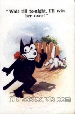 flx000093 - Felix the Cat Postcard Post Card