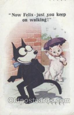 flx000106 - Felix the Cat Postcard Post Card