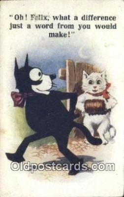 flx000111 - Felix Series 4723 Postcard Post Cards Old Vintage Antique
