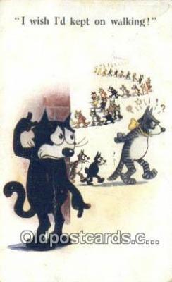 flx000129 - Series 449 Felix the Cat Postcard Post Card