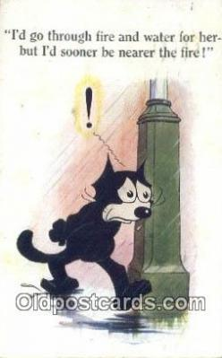 flx000135 - Series 447 Felix the Cat Postcard Post Card