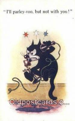 flx000154 - Series 4831 Felix the Cat Postcard Post Card