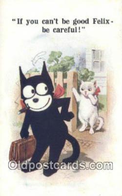 flx000168 - Series 4728 Felix the Cat Postcard Post Card