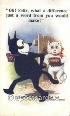 flx000170 - Series 4723 Felix the Cat Postcard Post Card