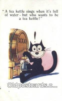 flx000176 - Felix the Cat Postcard Post Card