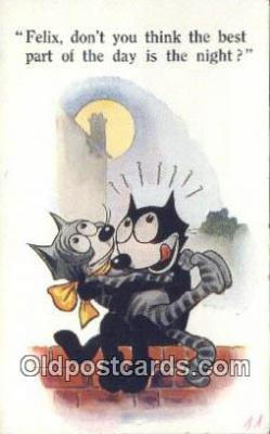 flx000184 - Series 4821 Felix the Cat Postcard Post Card