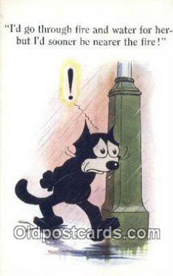 flx000195 - Series 4818 Felix the Cat Postcard Post Card