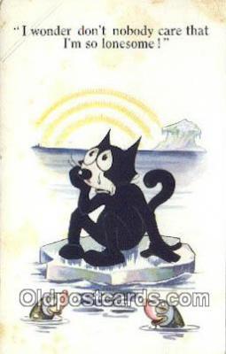 flx000209 - Series 475 Felix the Cat Postcard Post Card