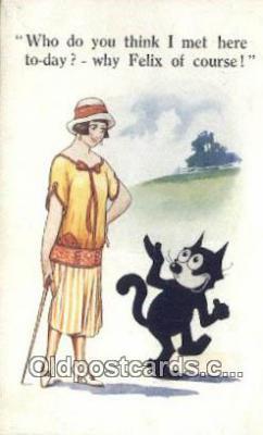 flx000210 - Series 471 Felix the Cat Postcard Post Card