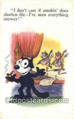 flx000213 - Series 5146 Felix the Cat Postcard Post Card