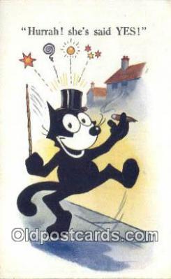 flx000234 - Felix the Cat Postcard Post Card