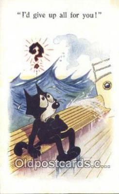 flx000241 - Series 4928 Felix the Cat Postcard Post Card
