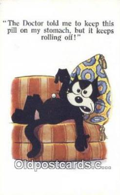 flx000245 - Series 4921 Felix the Cat Postcard Post Card