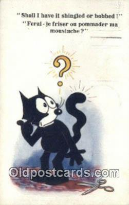flx000267 - Series 5159 Felix the Cat Postcard Post Card