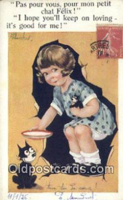 flx000280 - Series 5059 Felix the Cat Postcard Post Card