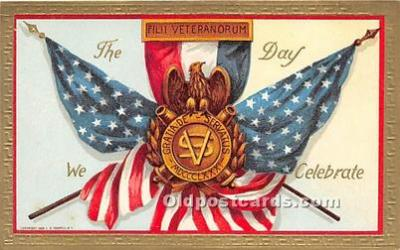 foj000028 - July 4th Independence Day Post Card