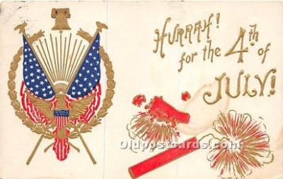 foj000030 - July 4th Independence Day Post Card