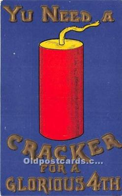 Yu Need a Cracker