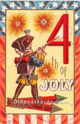 foj000057 - July 4th Independence Day Post Card