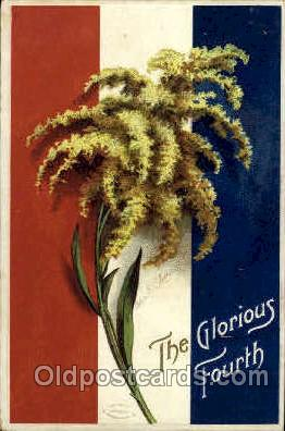 foj001038 - Artist Ellen Clapsaddle, 4th of July, Independence Day, Postcard Post Card