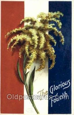 foj001166 - The glorious 4th of july Artist Ellen Clapsaddle, Fourth of July 4th, Independence Day, Old Vintage Antique Postcard Post Card