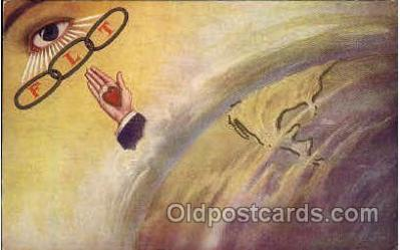 fra001003 - FLT, Fraternal Postcard Post Card