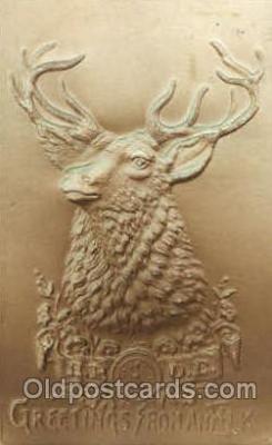 fra001010 - B.P.O.E. Elks, Fraternal Postcard Post Card