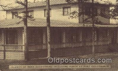 fra001017 - Fort Oglethorpe Georga, GA, USA Y.W.C.A Hostess House Misc. Fraternal, Postcard Post Card