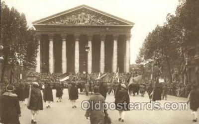 fra100003 - American Legion, Made in Paris France,  Fraternal Postcard Post Card