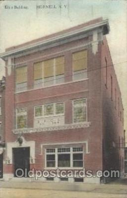 fra200007 - Elk's Building Fraternal Elks Club (B.P.O.E.) Postcard Post Card