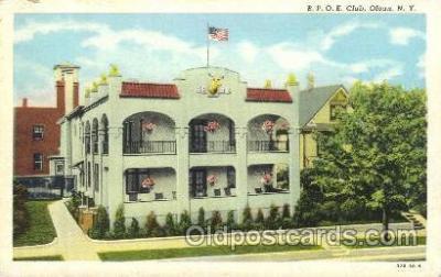 fra200020 - Fraternal Elks Club (B.P.O.E.) Postcard Post Card