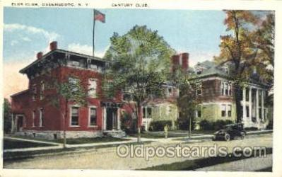 fra200022 - Ogdensburg, New York, USA Fraternal Elks Club (B.P.O.E.) Postcard Post Card