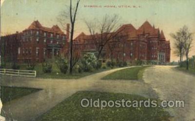 fra400002 - Utica, New York, N.Y., USA Mason, Mason's Fraternal Organization, Postcard Post Card