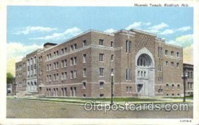 fra400010 - Hasting, Ned. Mason, Mason's Fraternal Organization, Postcard Post Card