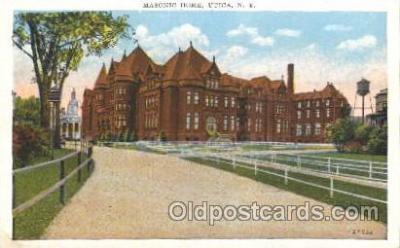 fra400053 - Mason, Mason's Fraternal Organization, Postcard Post Card