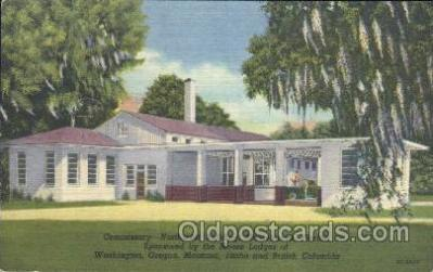 fra500005 - Moosehaven, Florida, USA Fraternal Moose Club, Postcard Post Card