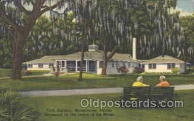 fra500010 - Moosehaven, Florida, USA Fraternal Moose Club, Postcard Post Card