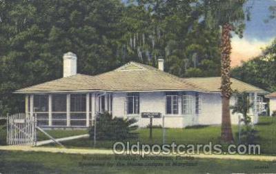 fra500013 - Moosehaven, Florida, USA Fraternal Moose Club, Postcard Post Card