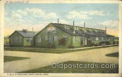 fra800006 - Camp Dodge, Iowa USA YMCA Fraternal Postcard Post Card