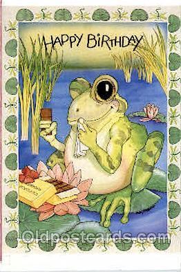 frg146 - Frog Postcard Post Card