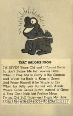 frg174 - Frog Frogs Postcard Post Card