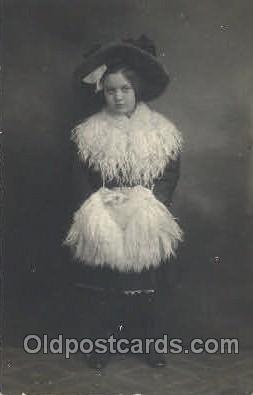 fur001009 - Fur, Postcard Post Card