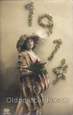 fur001038 - 1914, Fur, Postcard Post Card