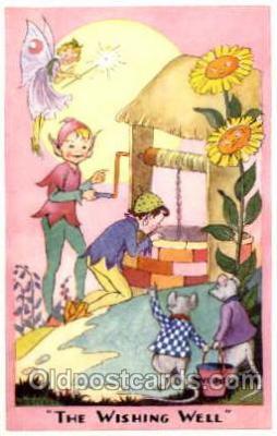 fyt001001 - Fairies, Fairy Tale Postcard Post Card