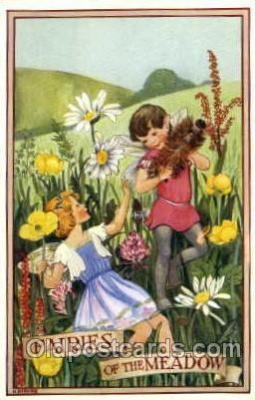 fyt001012 - Artist M. Sherborne, Fairies, Fairy Tale Postcard Post Card