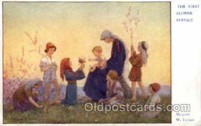 fyt001025 - Artist Margaret Tarrant, Fairies, Fairy Tale Postcard Post Card