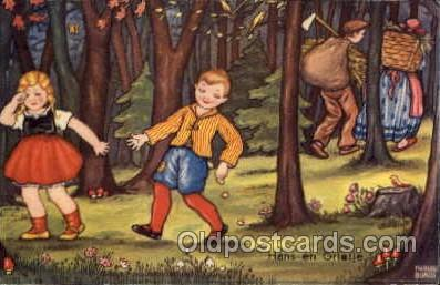 fyt001026 - Fairies, Fairy Tale Postcard Post Card