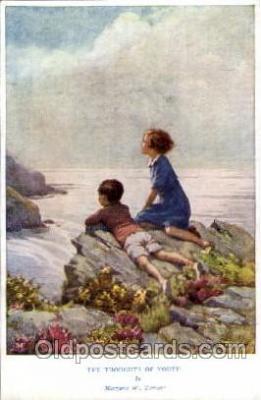 fyt001039 - Artist Margaret W. Tarrant Fairy Tale Postcard Post Card